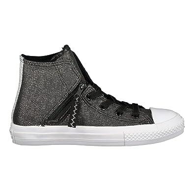 Converse Chuck Taylor CTAS Pull-Zip Hi, Zapatillas Unisex Niños: Amazon.es: Zapatos y complementos