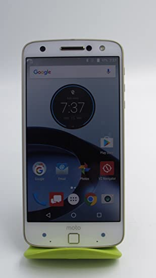 Moto Z FORCE Droid Edition 32gb Unlocked GSM w/Shatterpoof Display  XT1650MFG ( Bands 2,3, 4, 5, 7 and 13) (Fine Gold)