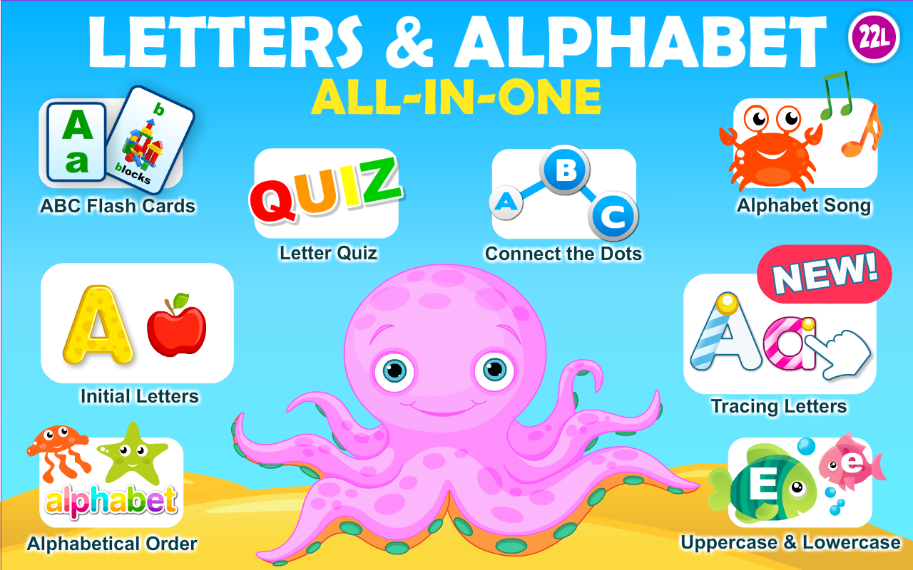Preschool All-In-One Learning A to Z - Letters and