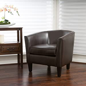 Christopher Knight Home 296109 Aiden Arm Chair, Brown, Brown