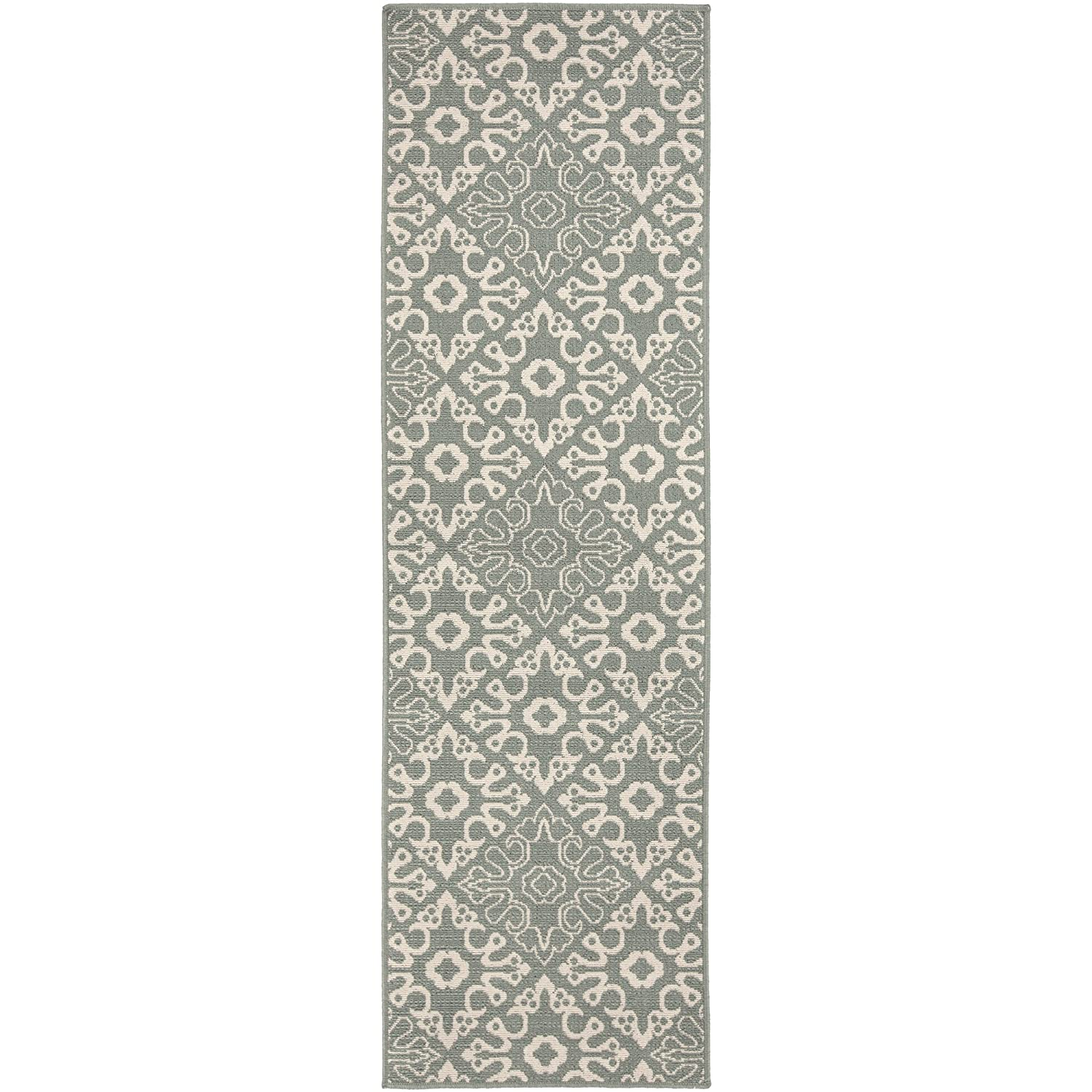 Surya Machine Made Traditional Area Rug, 6-Feet by 9-Feet, Taupe/Beige