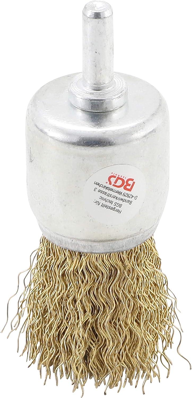 BGS 8364 Drahtbürste Pinsel vermessingt 25 mm gewellt