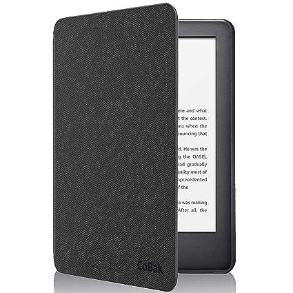 CoBak 2019 - Funda de Piel sintética para Kindle con luz Frontal ...