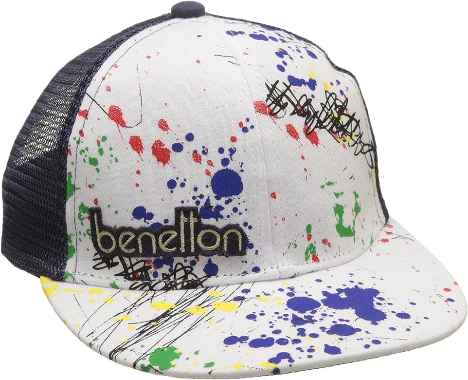 United Colors of Benetton Visor Cap, Gorra para Niños, Azul (Navy ...