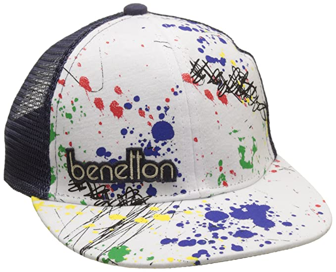 United Colors of Benetton Visor Cap, Gorra para Niños, Azul (Navy/White), 2 años: Amazon.es: Ropa y accesorios