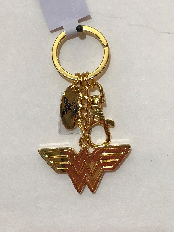Llavero de metal chapado en oro con el logotipo de las seis ...