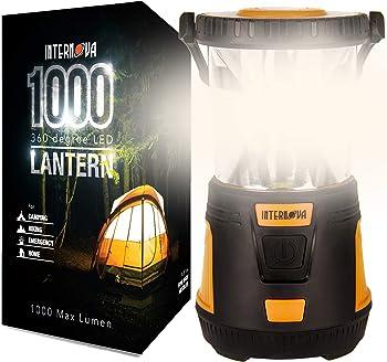 Internova 1000 LED 360 Arc Lighting Camping Lantern