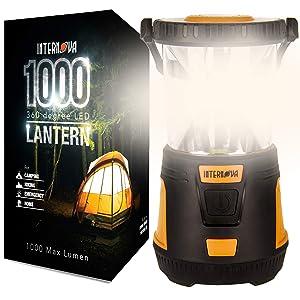 Internova 1000 LED Camping Lantern