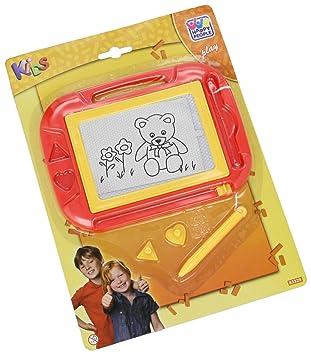 Happy People 63329 Zaubertafel mit Stift und 2 Magnetstempeln Sonstige Mal- & Zeichenmaterialien für Kinder Mal- & Zeichenmaterialien für Kinder