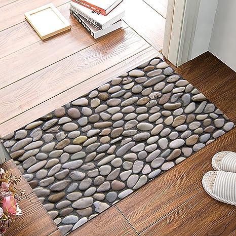 Doormat Goose Soft Stone Road Welcome Door Mat Rug Indoor/Outdoor Mats  Welcome Doormat Decor