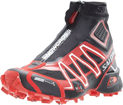 SALOMON Snowcross CS Zapatilla de Trail Running Unisex, Negro/Rojo, 42: Amazon.es: Zapatos y complementos