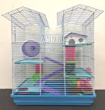 NEW Large Twin Towner Habitat Hamster Rodent Gerbils Mouse Mice Guinea Pig Cage