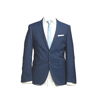 Barutti - Chaqueta de Traje - para Hombre Azul Etiqueta L ...