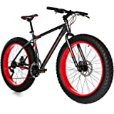 Moma Bikes Fat Bike 26 X 4.0 Aluminio Shimano 21v Bicicleta, Unisex Adulto