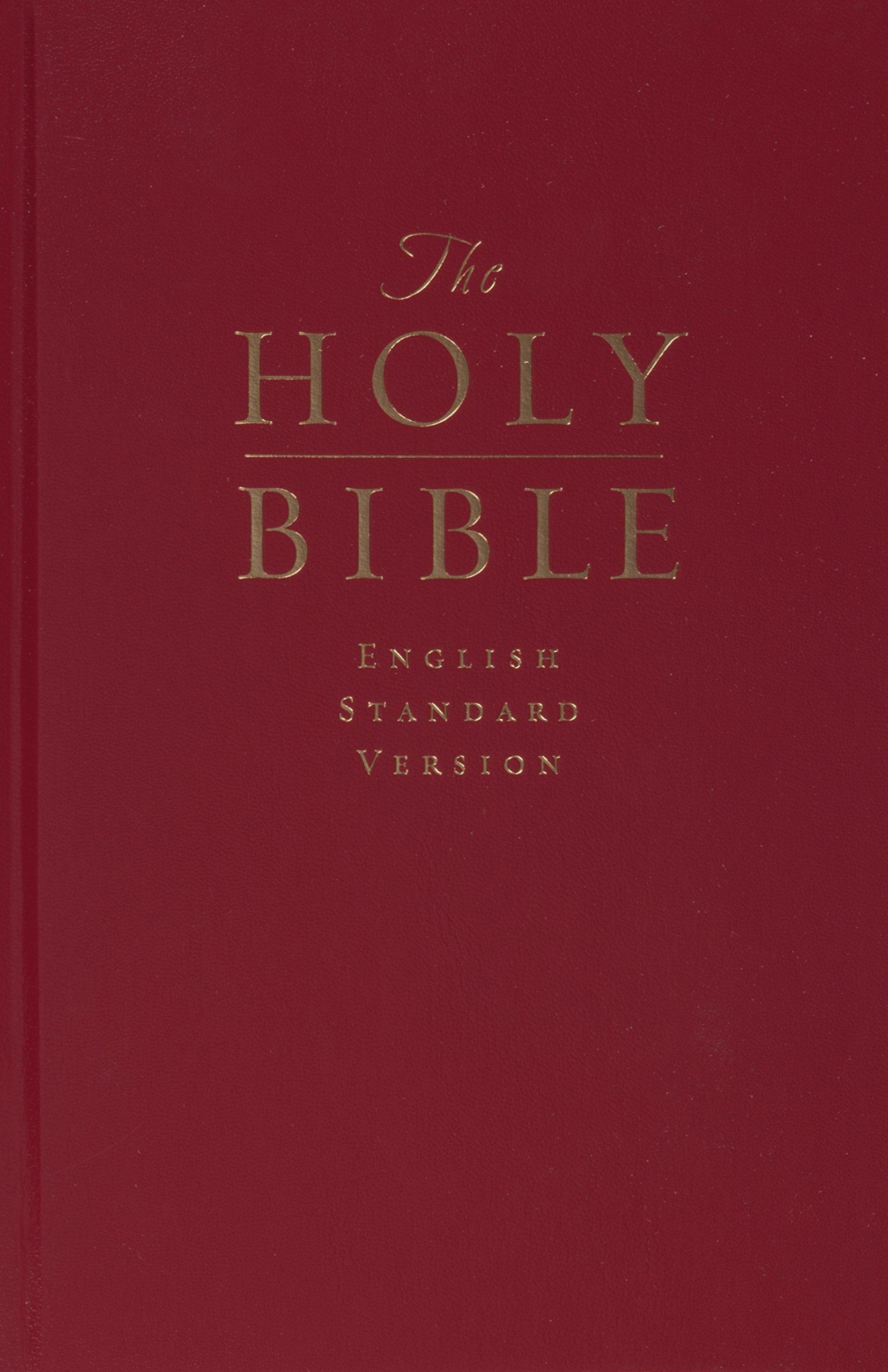 Download The Holy Bible: English Standard Version (Pew and Worship Bible, Dark Red) PDF