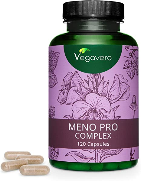 Suplemento Menopausia Vegavero® | Lúpulo + Aceite de Onagra + ...