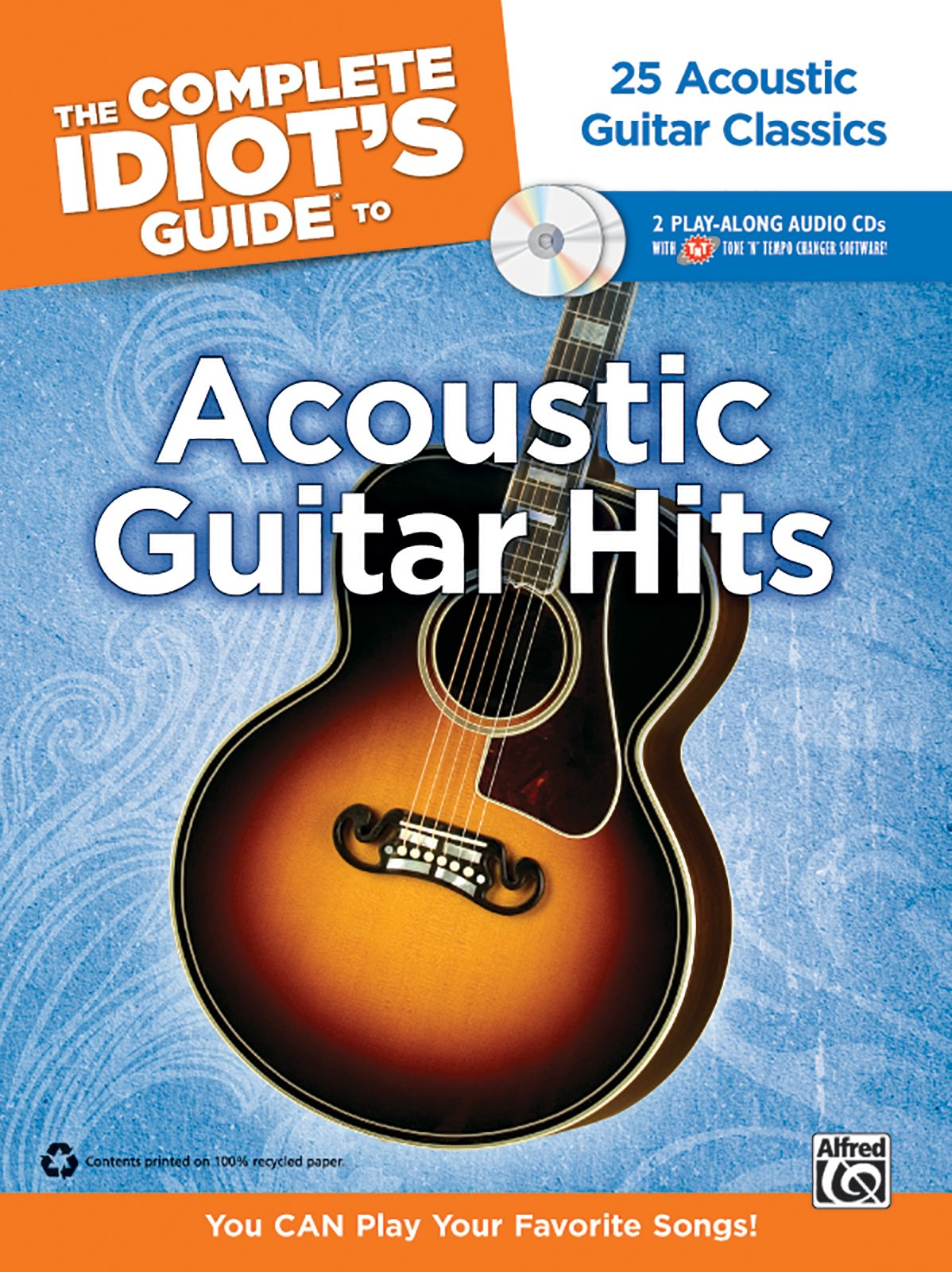 Amazon The Complete Idiots Guide To Playing Acoustic Guitar