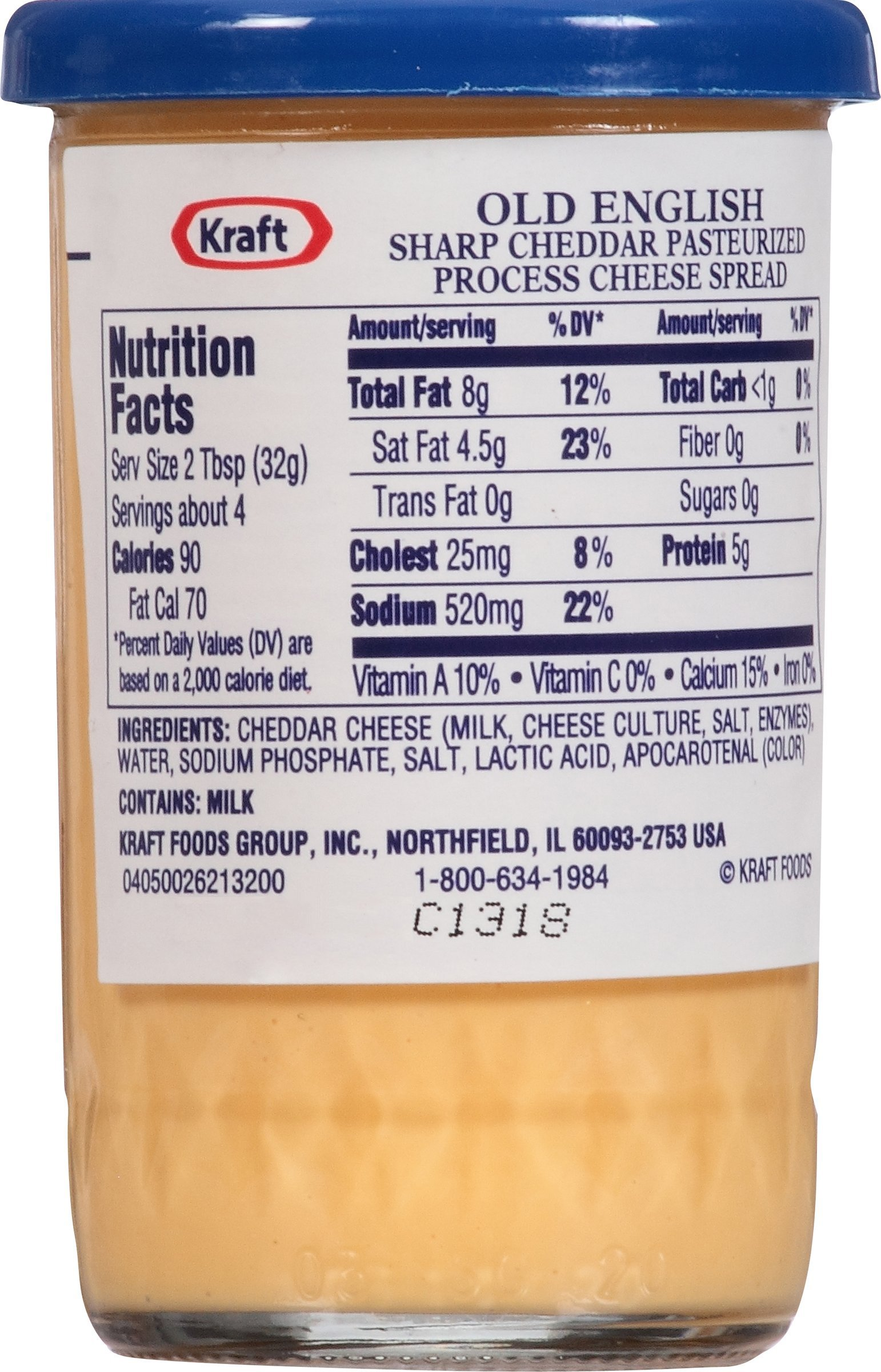 Kraft Old English Cheese Spread, 5-Ounce (Pack of 6) by Kraft (Image #4)
