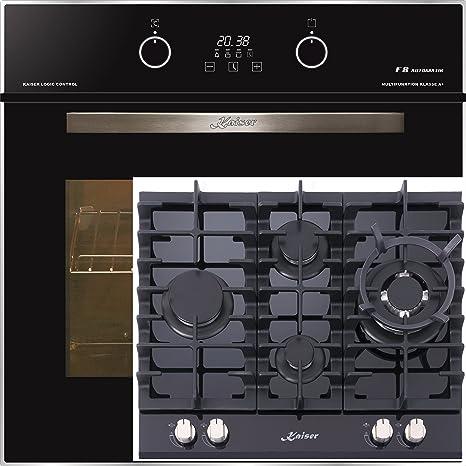 Cocina de gas Juego Autark de Kaiser/Kaiser EH 6363 eléctrico del ...