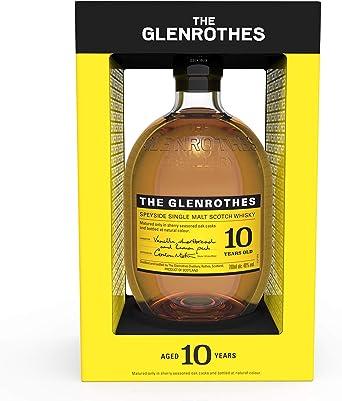 The Glenrothes 10 Años Single Malt Whisky Escoces, 40% - 700 ml: Amazon.es: Alimentación y bebidas