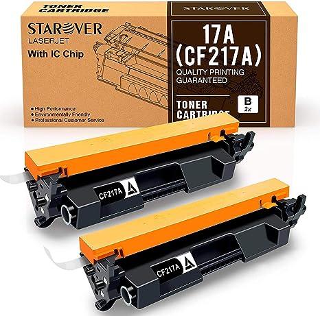 STAROVER Cartucho de Tóner Compatible Reemplazo para HP 17A CF217A ...