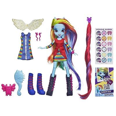 My Little Pony Equestria Girls Rainbow Dash Doll: Toys & Games