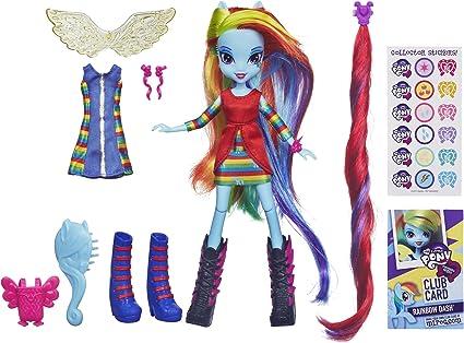 My Little Pony Equestria Girls Rainbow Dash Doll and Pony Set by My Little Pony