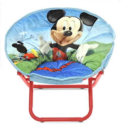 Gentil Disney Mickey Mouse Toddler Saucer Chair
