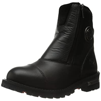 Milwaukee Leather Women's Classic Motorcycle Boots (Black, Size 7.5)