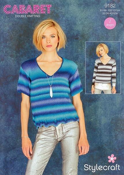 3077e98653956f Cabaret DK Pattern 9182 Sweaters  Amazon.co.uk  Kitchen   Home