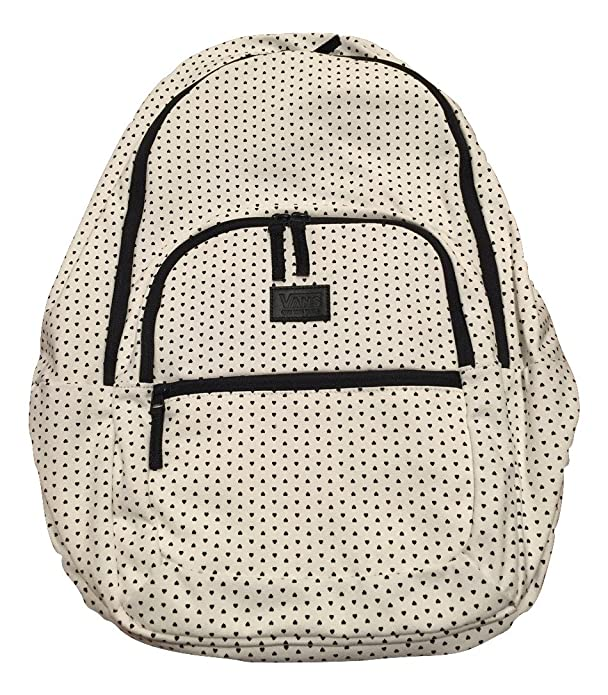 Amazon.com  Vans Schooling 3 Backpack - White Black Hearts  Shoes