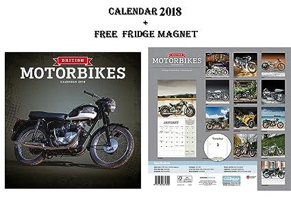 British motocicletas calendario 2018 + potencia máxima de coche ...