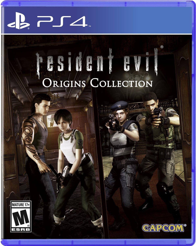 Amazon Com Resident Evil Origins Collection Playstation 4 Standard Edition Capcom U S A Inc Video Games