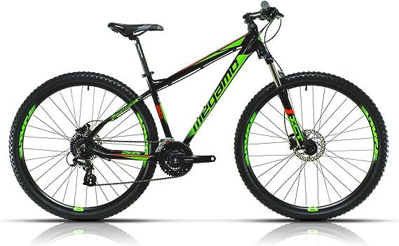 Megamo Natural 60 Bicicleta de Montaña, Hombre, Negro, M: Amazon ...