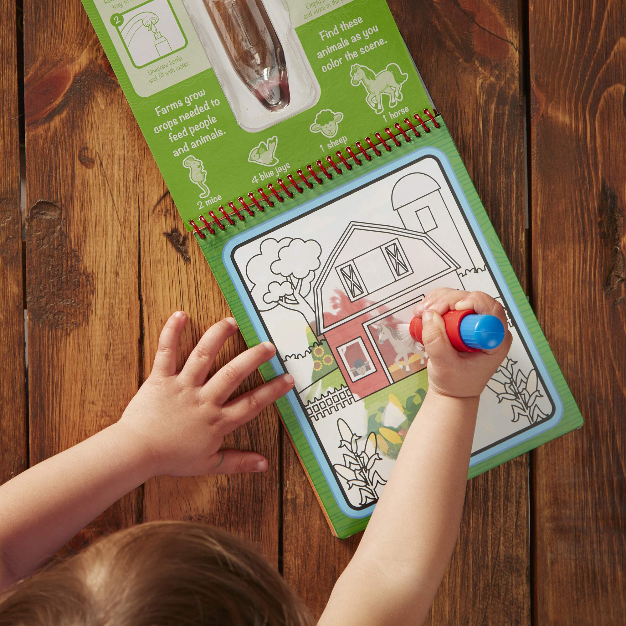 Melissa Doug Water Wow Reusable Color With Water Pad 3