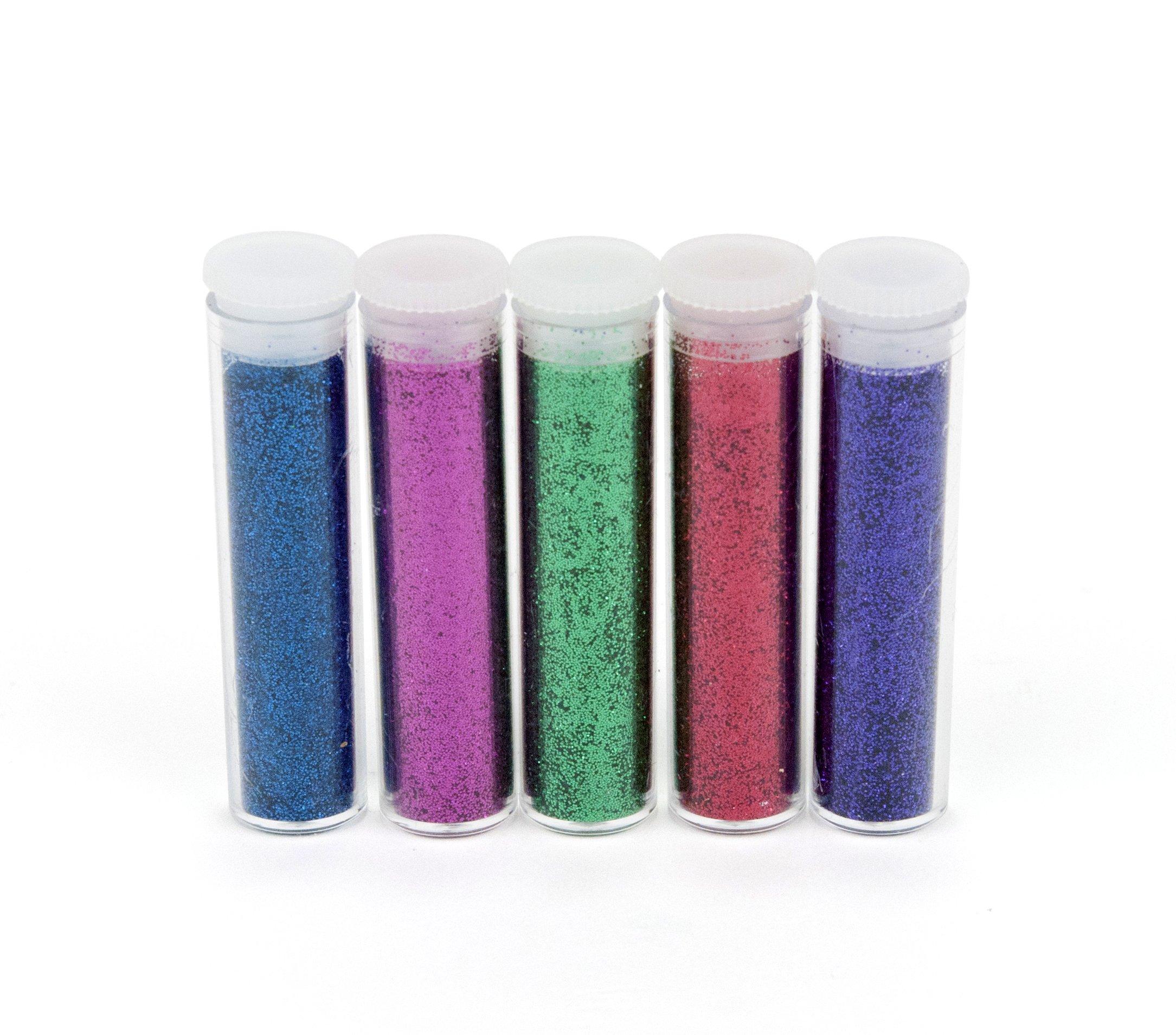 EK Tools Paquete de 5 Brillos, Colores Primarios