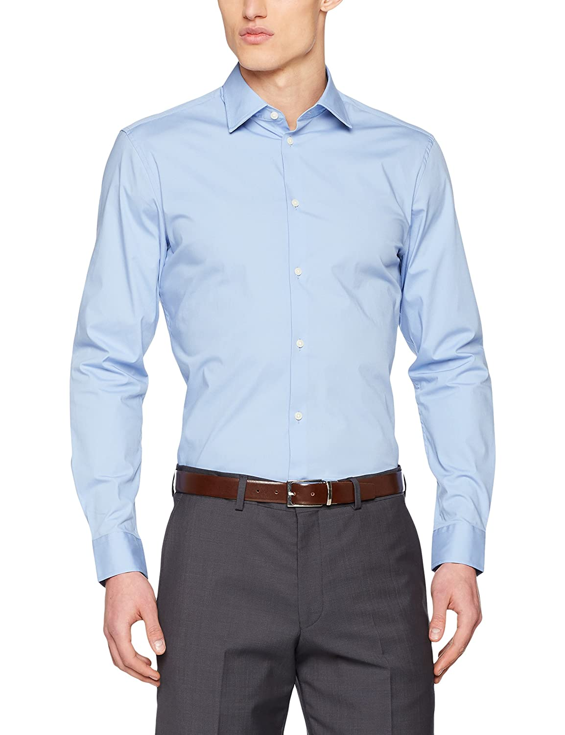 TALLA Medium (Talla del fabricante: 39-40). ESPRIT Collection Camisa para Hombre