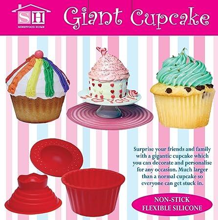 Sherwood Home Giant Cupcake Mouldbig Top Cupcake Bake Setbaking