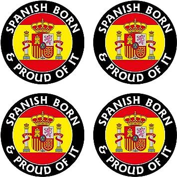 ESPAÑA, Español Nacido & Orgulloso 50mm (2