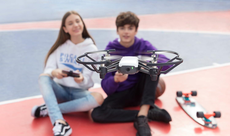 DJI Ryze Tech Tello is at #3 for best selfie drone.