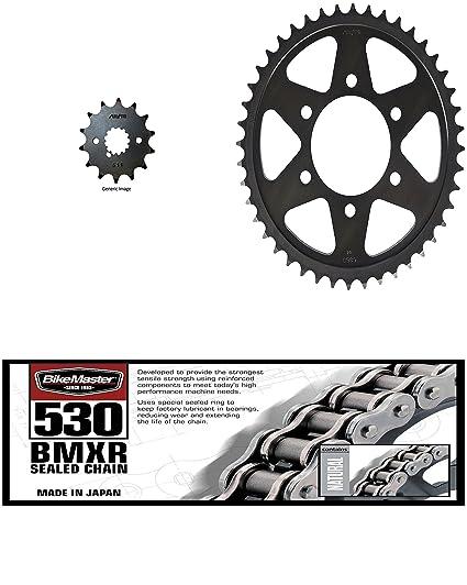 BikeMaster 530 bmxr sellado cadena, Sunstar delantero y ...