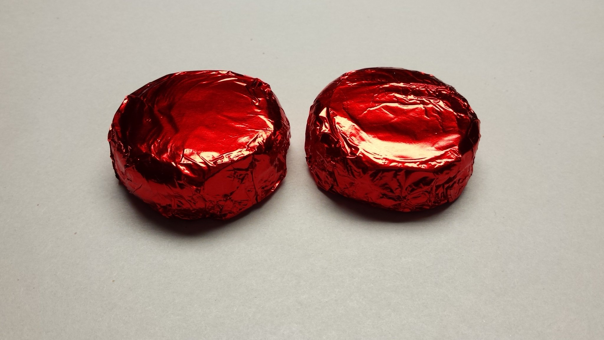 Chocolate Covered Oreo Cookies 50 Pieces RED Foil