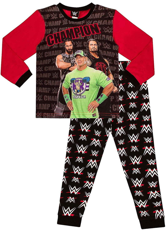 Boys WWE World Wrestling Entertainment Champions Pyjamas 435