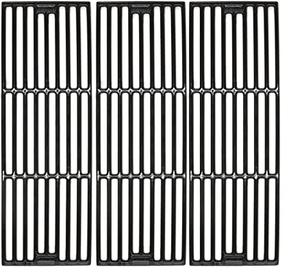 5050 Hisencn Replacement Porcelain Coated Cast Iron Cooking Grid Set of 4 3030 Grill Grates Select Gas Grill Models by Chargriller 3001 King Griller 3008 4000 3725 5252 and Others