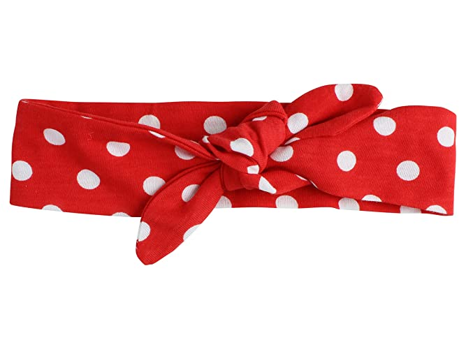 Amazon.com  Red and White Polka Dot Baby Top Knot Headband Toddler Knotted  Headband Adult Top Knot Headband Polka Dot Top Knot Headband  Handmade 7e1db15c46d