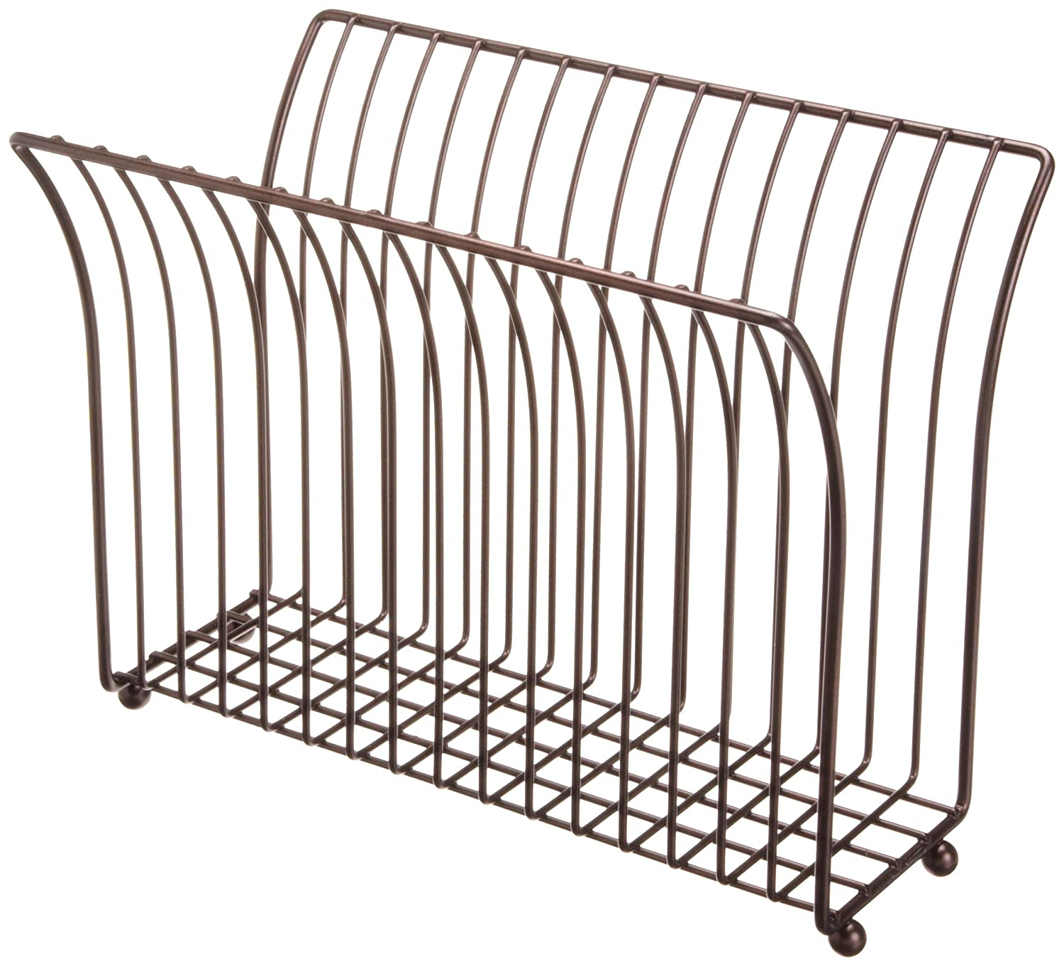 Taymor Coated Oil Rubbed Bronze Modern Magazine Rack 02-DAS1222CORB