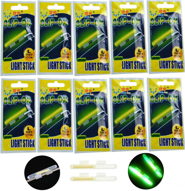 2Pcs Black Electronic LED Light Fish Bite Sound Alarm Bell Clip On Fishing RodRP