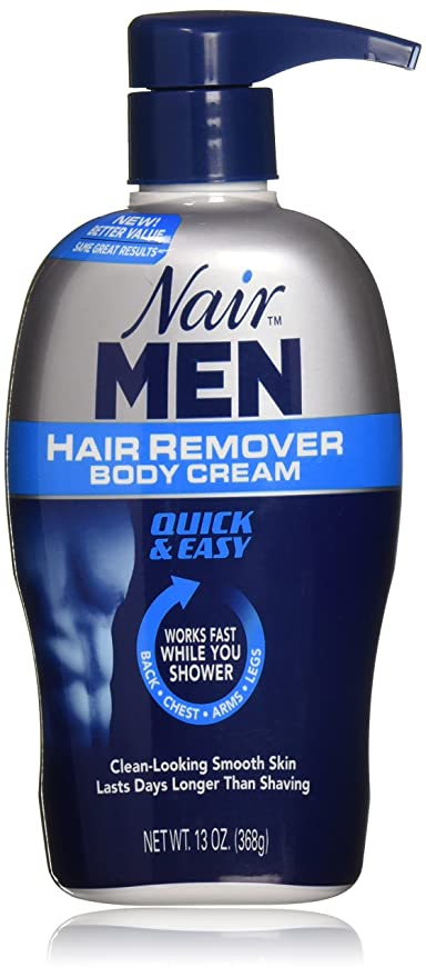 Amazon Com Nair Men Hair Removal Cream 2 Count Beauty