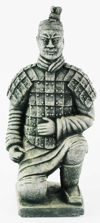 Chinese Warrior Statue Asian Collection Garden Statue Cement Figurine Sculpture