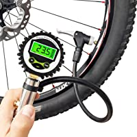 Mini Bike Air Pump Schrader Presta Valve Aluminum Alloy Bicycle Tire Inflator